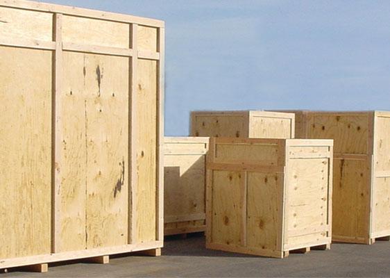 wood crates